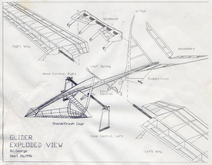 Drawing Hang Glider Design Learn Hang Gliding in NZ