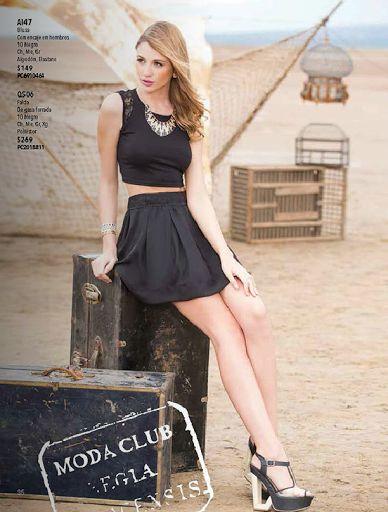 catalogo de ropa de moda primavera-verano 2014 modaclub. www.catalogomodaclubropa.com