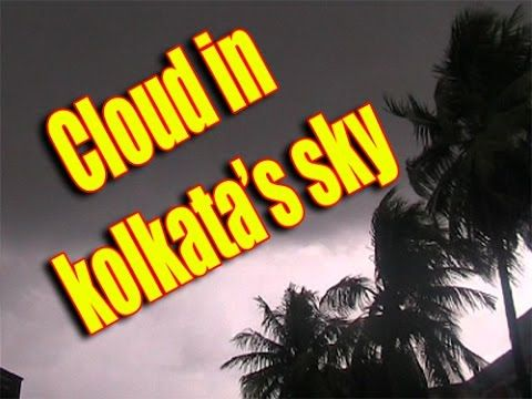 Black Cloud in Kolkata's Sky