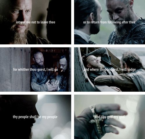 Ragnar + Athelstan: You will be my John the Baptist. Wherever you go, I will follow. #vikings