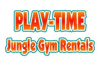 Play-Time jungle gym rental