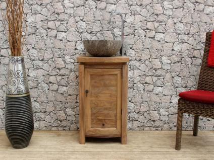 Waschtisch Mit Unterschrank 50x40 Nr. 58230 Unterbau Bad Waschtischunterbau  Bilder Waschtischunterschrank Waschbecken Waschbeckenunterbau Holz Massiv