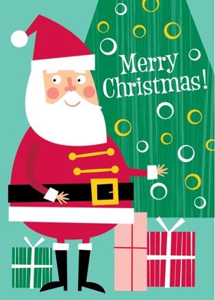 Xmas Cards by Ed Miller Design, via Behance