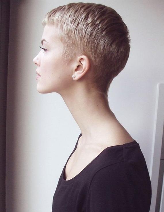 Short Hair - Blonde