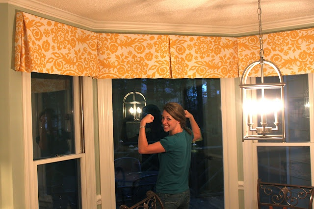 Boxed pleat Valance tutorial