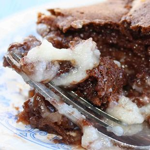 Earthquake Cake Recipe : This Earthquake Cake Recipe uses Duncan Hines® Signature German Chocolate Cake Mix. Give it a try and share your recipe with us!