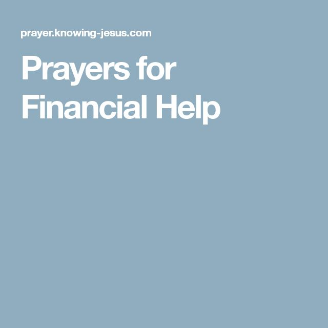 Prayers for Financial Help
