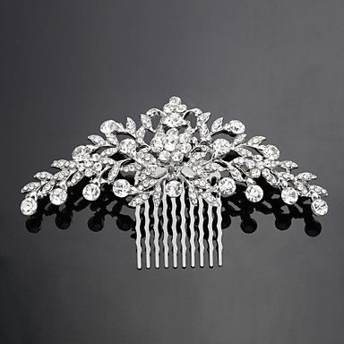 Women's+Alloy+Headpiece-Wedding+/+Special+Occasion+Hair+Combs+As+the+Picture+–+CAD+$+11.11