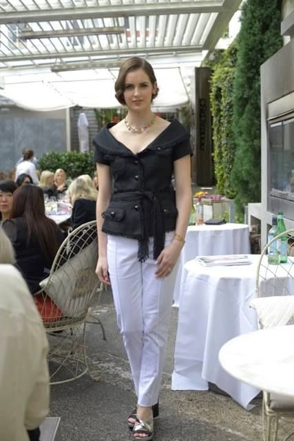 Orsini Fine Jewellery Dolce Vita Luncheon Event at NSP Sept 2014 Diamond fashion show for charity.