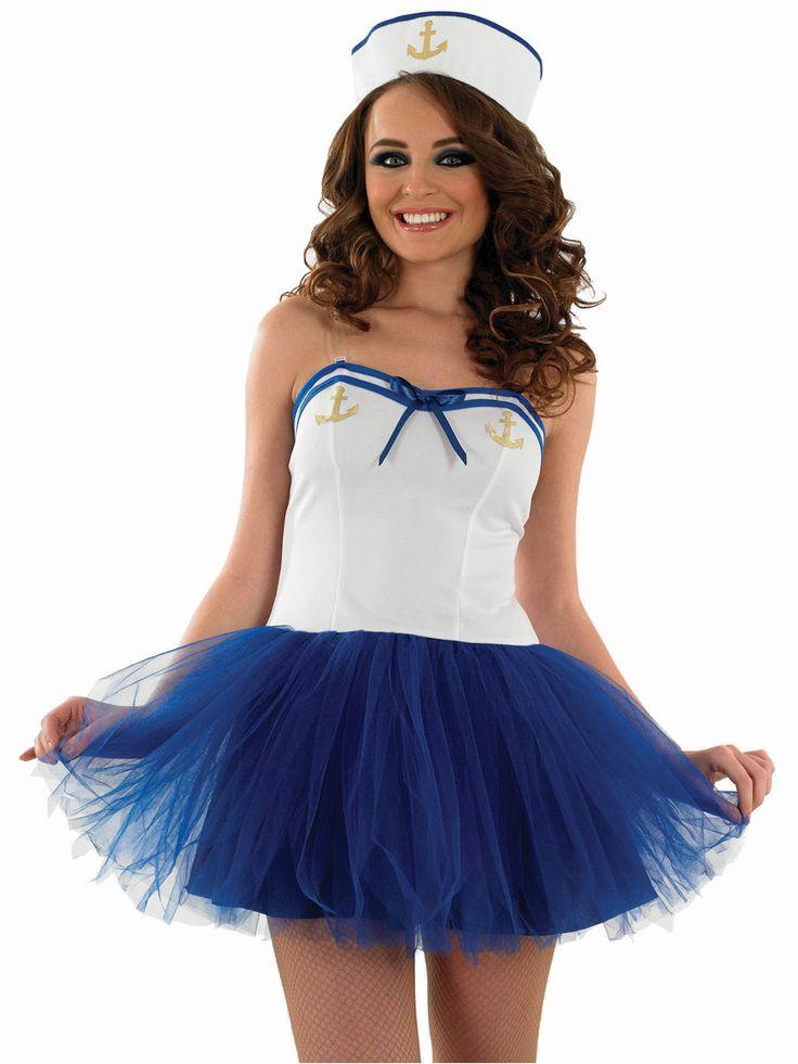 Sexy Tutu Sailor Girl Costume - FS3356 - Fancy Dress Ball