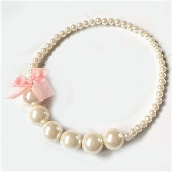 Pearl bracelet for wedding from LC.Pandahall.com