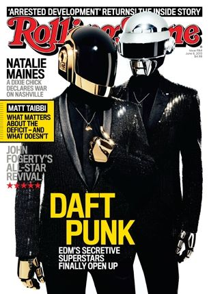 Read our new cover story, a revealing interview with the secretive duo Daft Punk and how they're reinventing dance music, again: http://rol.st/12J7j0a #longreads
