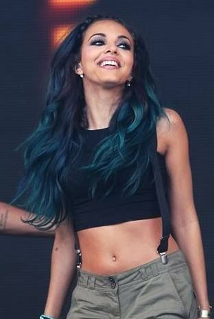 Jade Thirlwall Blue Hair Gif Jade thirlwall by