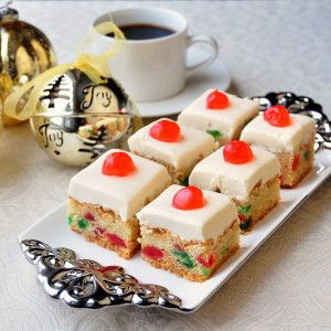 Cherry Cake Squares « foodetto   best recipes
