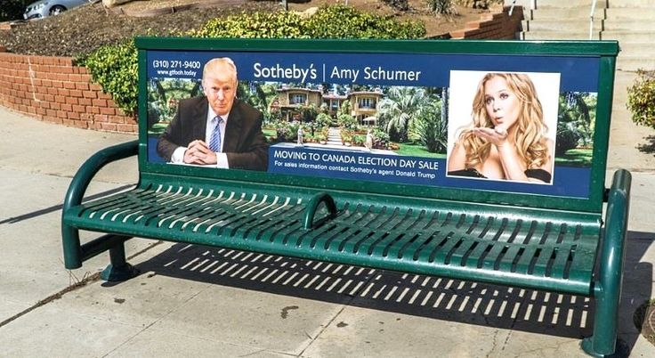 Amy Schumer promised to leave for Canada if Trump wins billboards are popping up in LA exposing her for not following through