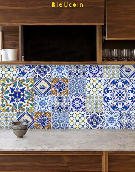 Bleucoin Tile Decals G O R G E O U S T H I N G S