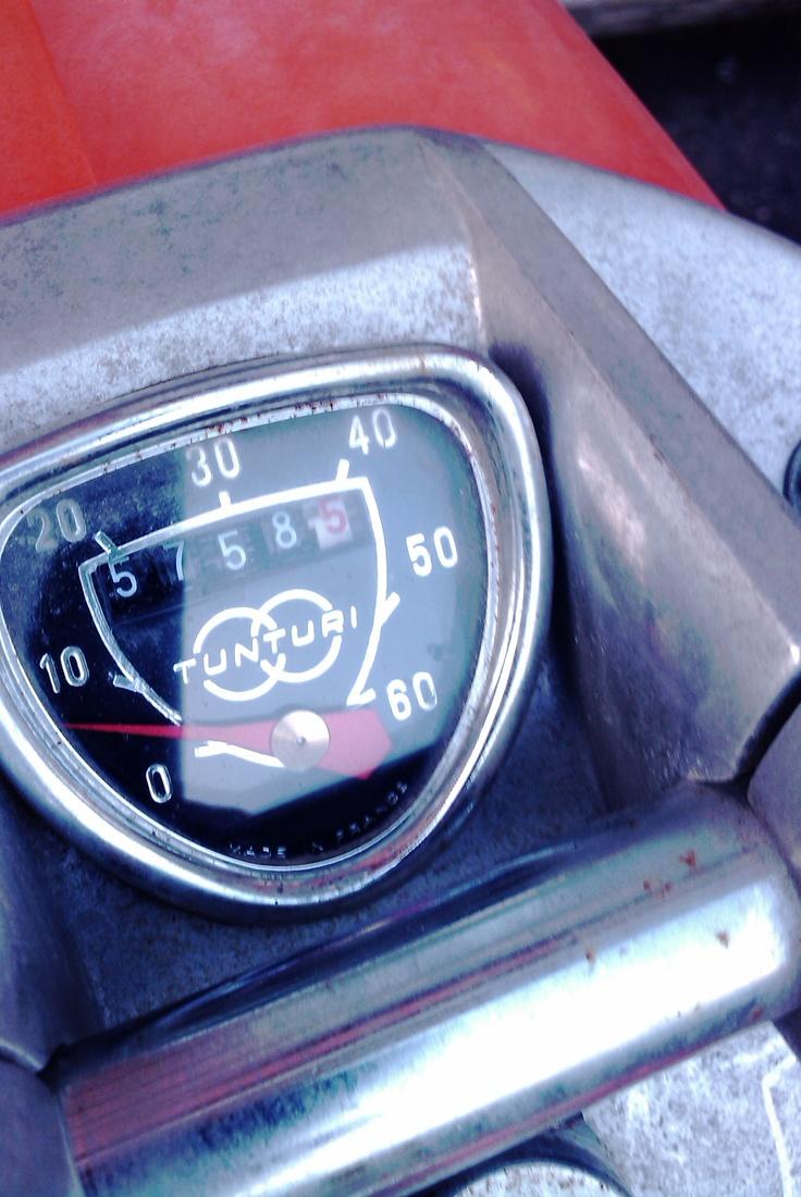 Pappa-Tunturi's speedometer.