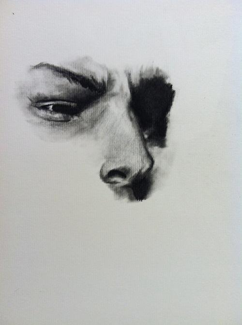 Charcoal Drawing Tumblr Charcoal Portraits Drawings