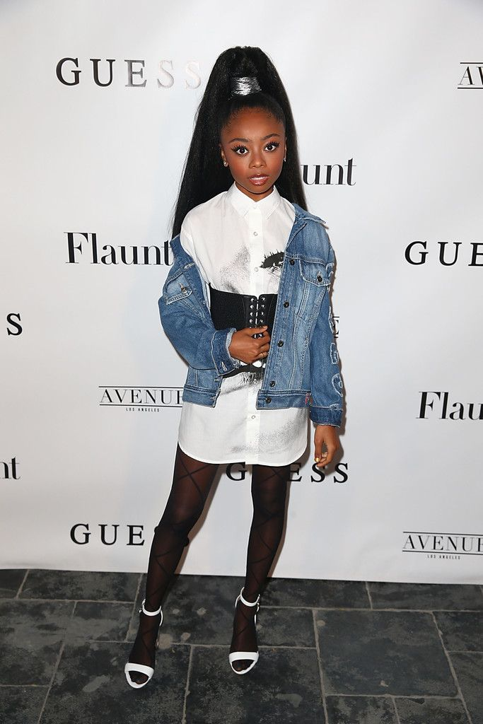 Skai Jackson Photos Photos - Flaunt And Guess Celebrate The Alternative Facts Issue Hosted By Joe Jonas And DNCE - Zimbio