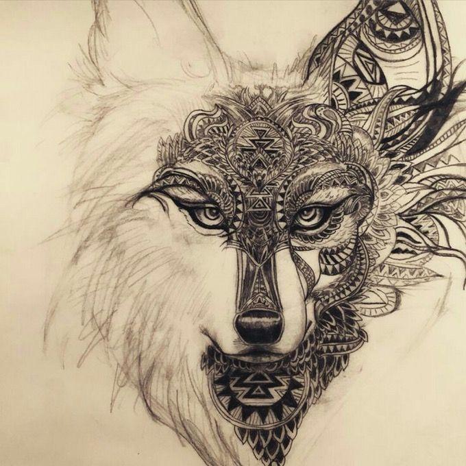 #dreamtattoo #wolf #black #notmine #competition #megandreamtattoo #meganmassacre