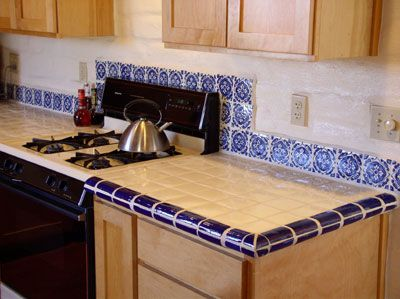 38 best outdoor kitchen tile ideas images on pinterest for Spanish style kitchen backsplash