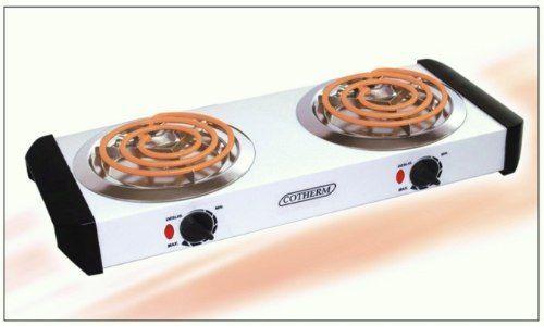 Fogão Eletrico Branco 2 Bocas Cotherm 2000w 220v - R$ 229,90 em Mercado Livre