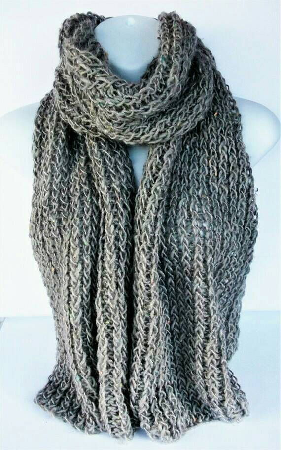 Check out this item in my Etsy shop https://www.etsy.com/uk/listing/531713275/beige-knit-scarf-recycled-wool-scarf