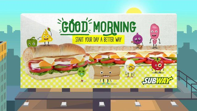 To get 'Subway' on your mind at breakfast time, we created this catchy tune that you can hum while brushing your teeth.