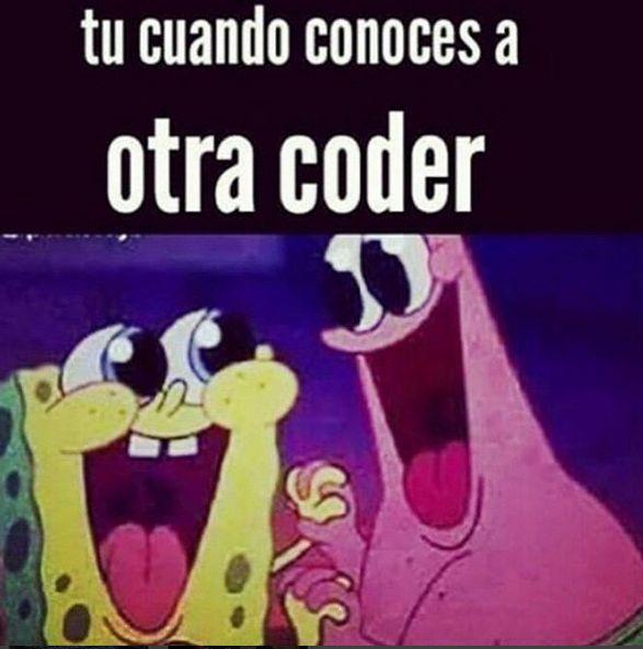 ¿TE HA PASADO?  #CodersAreChidas @NoviasdeCD9 @MexicanCodersMX #cd9 @UniversoCD9_