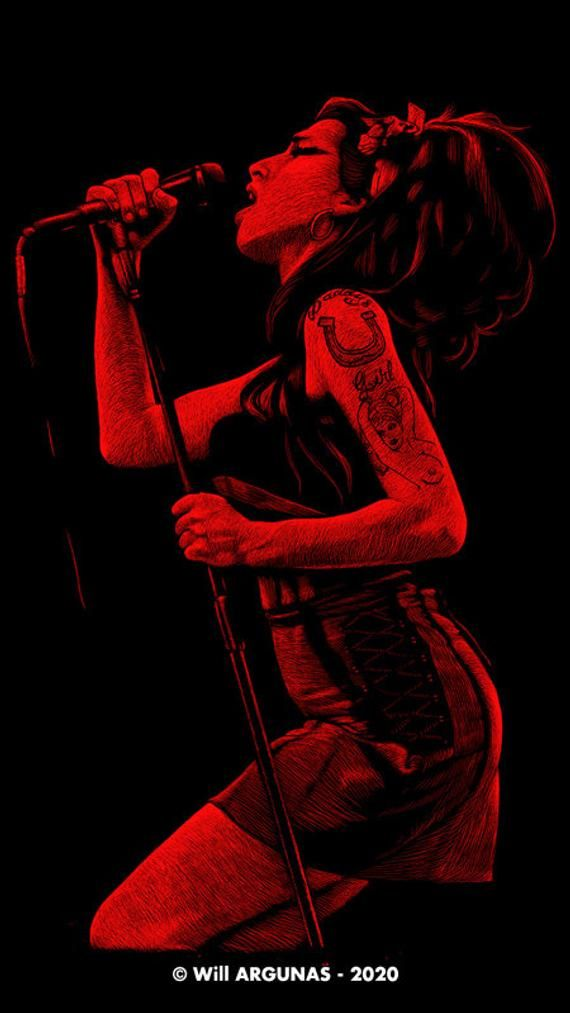 Phone Wallpaper Download Amy Winehouse By Will Argunas Art Etsy In 2021 Amy Winehouse Amy Winehouse Aesthetic Winehouse