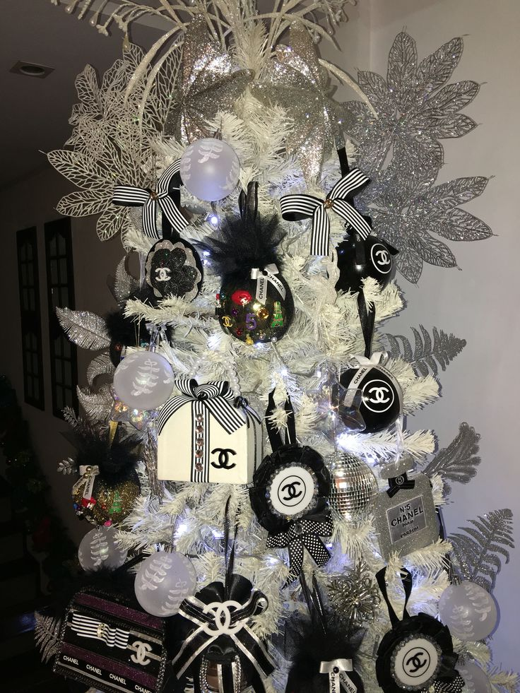 Chanel Ornaments Elegant Christmas Trees Christmas Tree