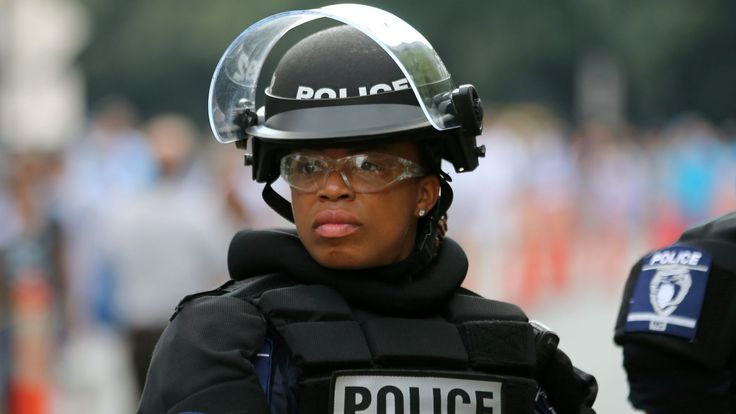 Only 12% of full-time local police officers in the U.S. are women.