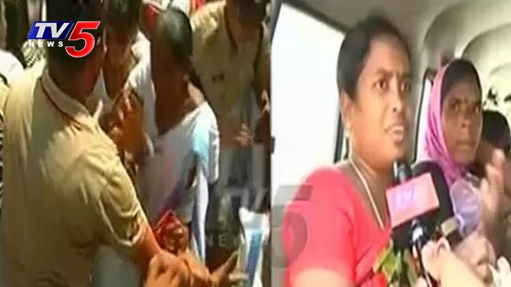 Tension At Indira Park | Police Arrested Asha Workers | Chalo Hyderabad ...