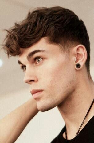 Stephen James : love his hair! I want to get my son's grown out like this