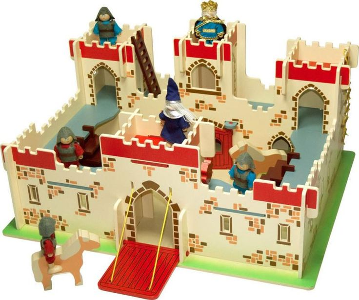 Bigjigs Wooden King Arthur's Castle