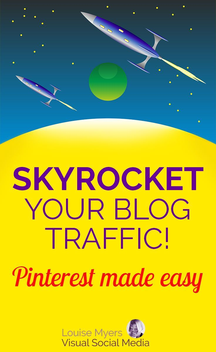 Skyrocket your business and blog traffic with Pinterest! Click to learn about this inexpensive course for beginners. I've used these tactics to get over 2 MILLION website visits from Pinterest in the past year. Includes eBook, checklists, videos. #marketi