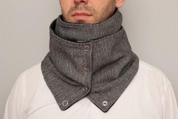 Grosso circolare infinito sciarpa uomini scaldacollo di SenasShop