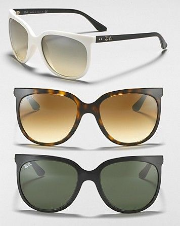 Ray-Ban Oversized Cat Eye Sunglasses   Bloomingdale's