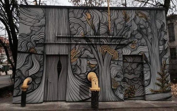 Невероятный киевский стрит-арт • НОВОСТИ В ФОТОГРАФИЯХ