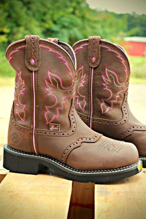 Boutique, Women's Steel Toe Justin Work Boot