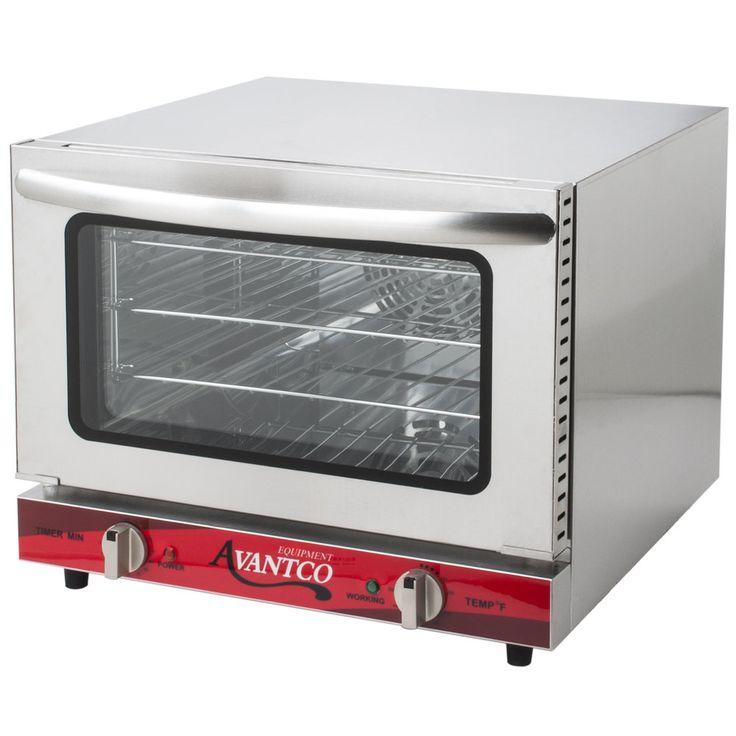 avantco co14 quarter size countertop convection oven 08 cu ft