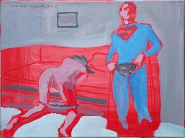 "Saatchi Online Artist Janusz Gałuszka; Painting, ""about gender and cultural domination"" #art"