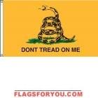 High Wind, US Made Gadsden Flag 5x8