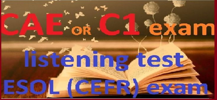 English degree CAE (C1). Certificate in advanced english 2 test 1 part 3