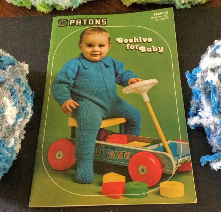 Vintage Patons Beehive Knitting and Crocheting Pattern Books For Baby|Book No. 133 and Book No. 150|Beehive for Baby|Baby Fashions by ABlueHerronCreation on Etsy