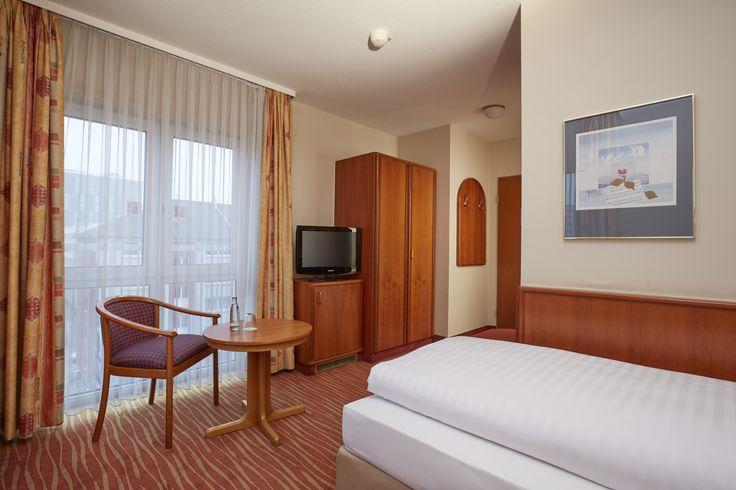 Sitzecke Komfort Einzelzimmer im H4 Hotel Mannheim
