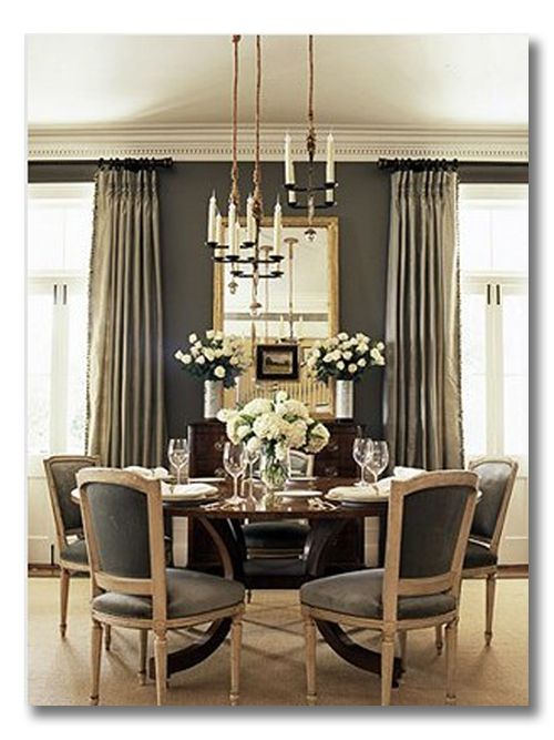 Monochromatic Room Inspiration Gray Dining Ditto