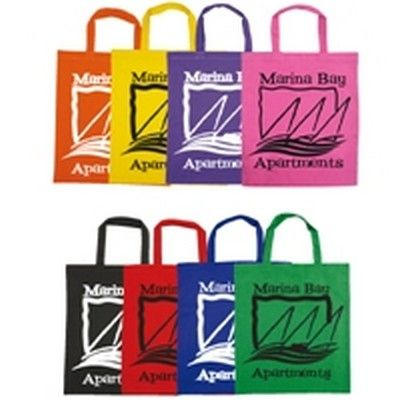 Short Handle Cotton Custom Tote Bag - 140 Gsm Min 100 - Promotional Giveaways - Tradeshow Bags - GO-5091s - Best Value Promotional items including Promotional Merchandise, Printed T shirts, Promotional Mugs, Promotional Clothing and Corporate Gifts from PROMOSXCHAGE - Melbourne, Sydney, Brisbane - Call 1800 PROMOS (776 667)