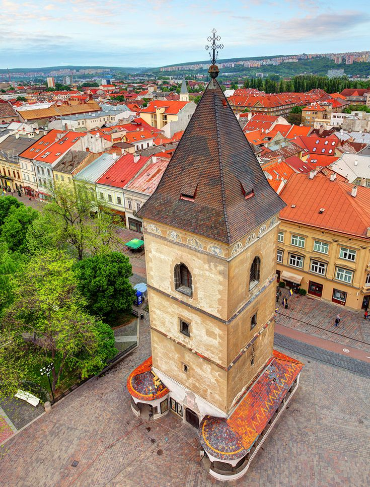 St. Urbans Tower in Kosice, Slovakia