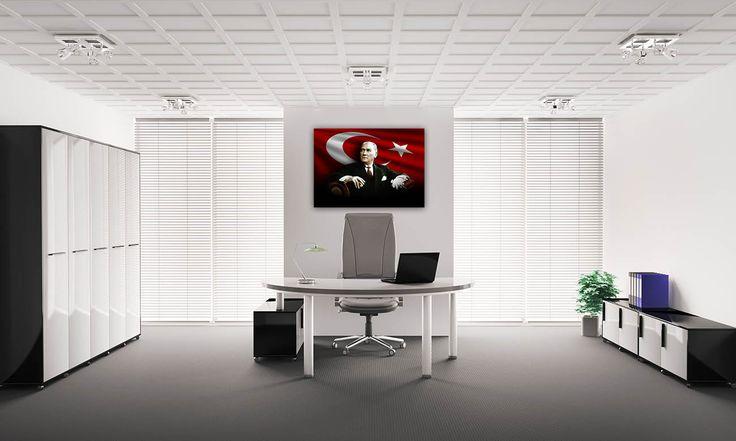 Atatürk Tabloları   A Tasarım - Atatürk Ürünleri
